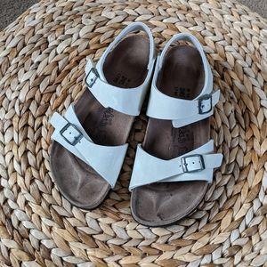 Birkenstock Birki's pale gray sandals 7-7,5 size
